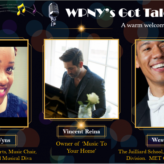 Images of the judges of WPNY's Got Talent 2021